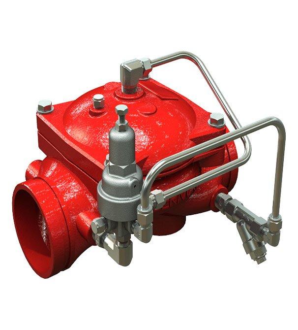 Bermand Hydraulic control valve